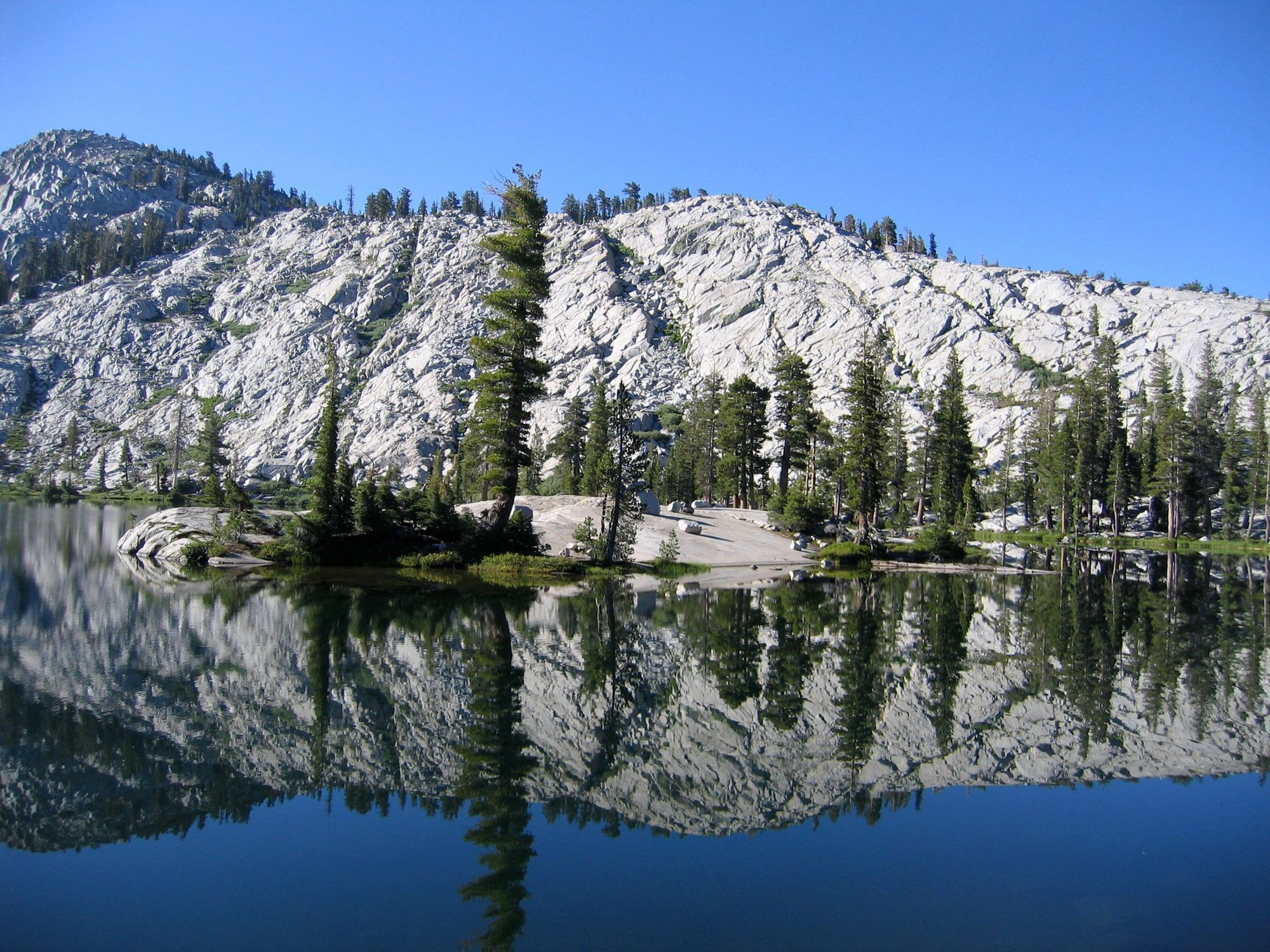 Yosemite Backcountry Lake